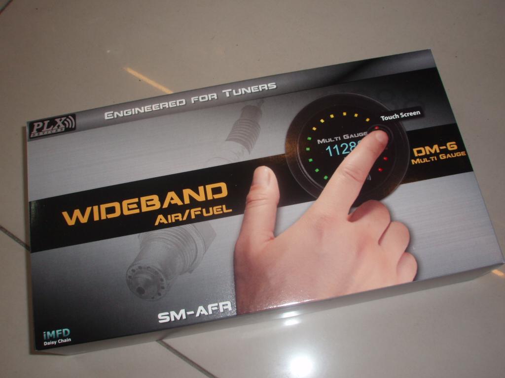 PLX Touch Screen Air Fuel Ratio Gauge Kit